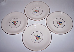 PICKARD CHINA MARGUERITE SET/4 SAUCERS! (Image1)