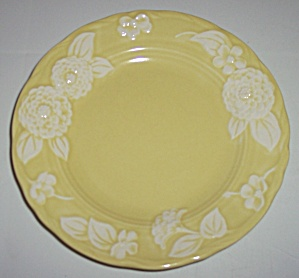Metlox Pottery Poppy Trail Flora Lace Bread Plate