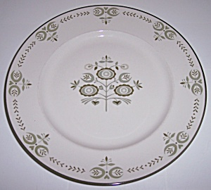 Franciscan Pottery Family China Heritage Dinner Plate