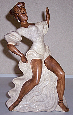 Treasure Craft Pottery Sexy Female Dancing Figurine! (Image1)
