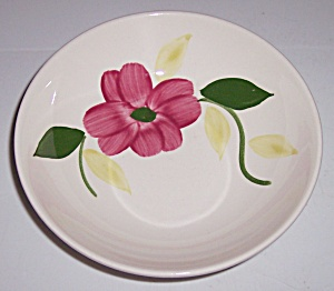 Stetson China Company Red Floral Fruit Bowl! (Image1)