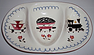 STANGL POTTERY KIDDIE WARE MEALTIME SPECIAL DISH! (Image1)