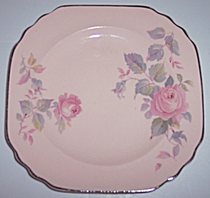 Royal China Rose Marie Bread Plate