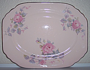 ROYAL CHINA ROSE MARIE PLATTER! (Image1)