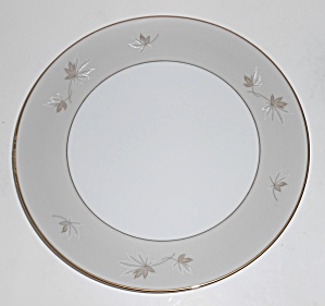 ZYLSTRA FINE CHINA FROSTED LEAVES SALAD PLATE! (Image1)