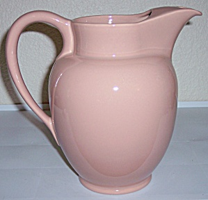 Franciscan Pottery El Patio Gloss Coral Ice Lip Pitcher