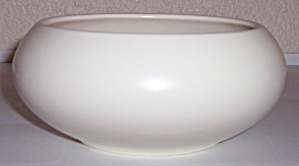Franciscan Pottery Tropico Art Ware Ivory Bulb Bowl!  (Image1)