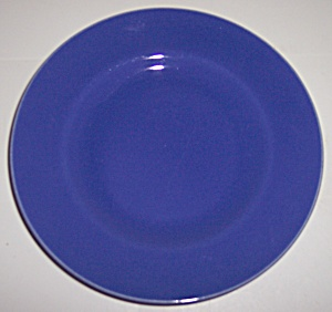 Metlox Pottery Poppy Trail Series 200 Cobalt Bread Plt