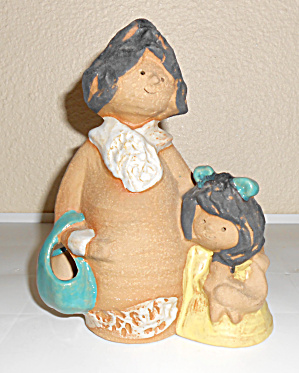 Metlox Pottery Poppy Trail Artware #459 Myra Poppet