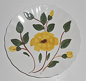 BLUE RIDGE POTTERY YELLOW NOCTURNE BREAD PLATE! (Image1)