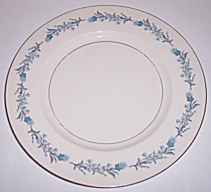 THEODORE HAVILAND CHINA CLINTON DINNER PLATE! (Image1)