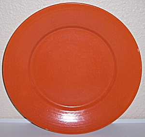 Franciscan Pottery Tropico Flame Orange Charger