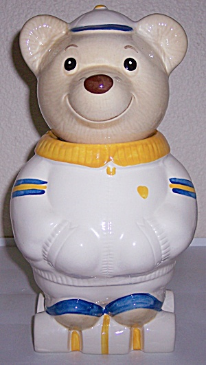 Metlox Pottery Poppy Trail Roller Skates Bear Cookie (Image1)