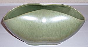 CATALINA POTTERY RESEDA ART WARE #C-252 GREEN VASE! (Image1)