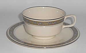 Franciscan Pottery Fine China Constantine Cup/saucer
