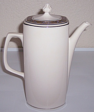 Franciscan Pottery Fine China Constantine Coffee Pot