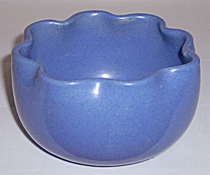 GARDEN CITY POTTERY DELPH ART BULB BOWL! (Image1)