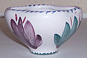 ARABIA ART POTTERY DECORATED FLORAL ART BOWL! (Image1)