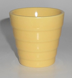 Franciscan Pottery Tropico Yellow Cactus Flower Pot