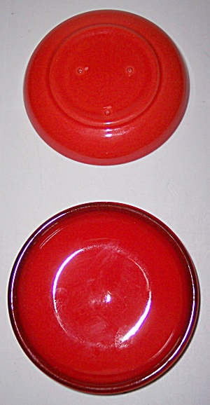 Metlox Poppy Trail Pottery Red Rooster Coaster