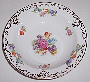 Noritake China Dresdoll Fruit Bowl! MINT (Image1)
