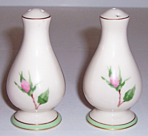 Franciscan Pottery Fine China Cherokee Rose Shaker Set