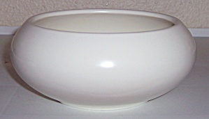 Franciscan Pottery Tropico Art Ware Ivory Bulb Bowl