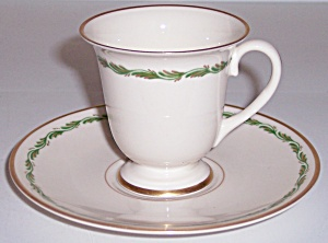 Franciscan Fine China Arcadia Green Demi Cup/saucer