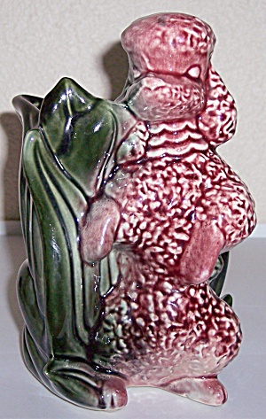 Hull Art Pottery #114 Poodle Planter/Vase! MINT! (Image1)
