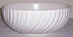 Franciscan Pottery Coronado Satin Ivory Salad Bowl