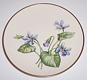 FRANCISCAN POTTERY FINE CHINA OLYMPIC BREAD PLATE! (Image1)