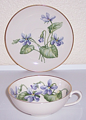 Franciscan Pottery Fine China Olympic Cup/saucer Set