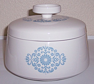 Franciscan Pottery Family China Medallion Casserole