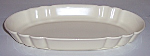 FRANCISCAN POTTERY ART WARE EARLY OVAL IVORY BOWL! (Image1)