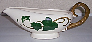 Metlox Pottery Poppy Trail California Ivy Gravy Bowl