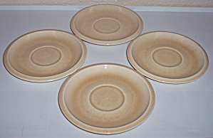Franciscan Pottery Sculptures Primary 4 Sand Saucers