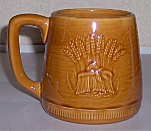 Franciscan Pottery Wheat Summer Tan Large Mug