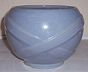 Zanesville Stoneware Pottery Company Bulbous Delph Vase (Image1)