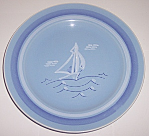 Franciscan Pottery Del Mar Luncheon Plate