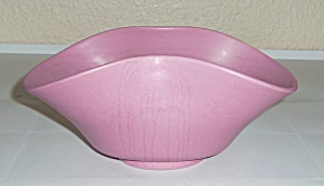 Rosemeade Pottery Dusty Rose Flared Art Bowl