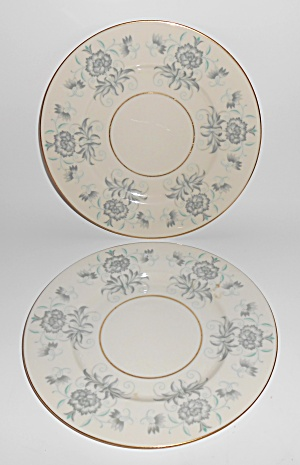 Castleton China Caprice Pair Salad Plates