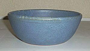 Seagrove Pottery Early Blue Art Bowl! (Image1)