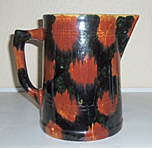 Pacific Pottery Early Drip Glaze Tankard Pitcher! (Image1)