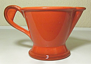 METLOX POPPY TRAIL POTTERY RED ROOSTER CREAMER (Image1)