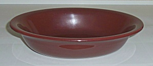 Franciscan Pottery El Patio Redwood Oval Veg Bowl
