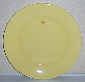 Franciscan Pottery El Patio Yellow Early 17 in Charger! (Image1)