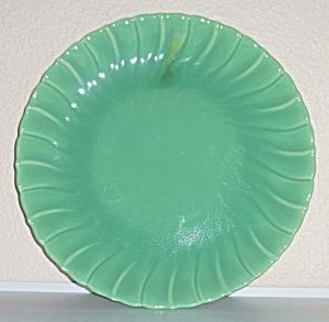 Franciscan Pottery Coronado Apple Green Chop Plate