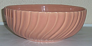 Franciscan Pottery Coronado Gloss Coral Salad Bowl