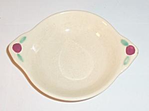 Coors Pottery Rosebud Ivory Fruit Bowl! (Image1)