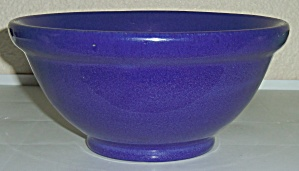 Pacific Pottery Plain Ware Cobalt #18 Mixing Bowl! (Image1)